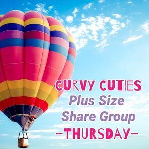 Tops - 6/27 PLUS SHARE GROUP: Curvy Cuties